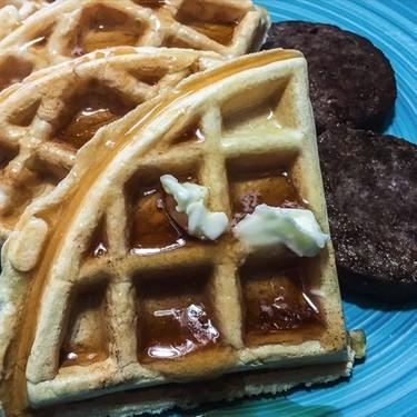 Easy Belgium Waffles Recipe | SideChef