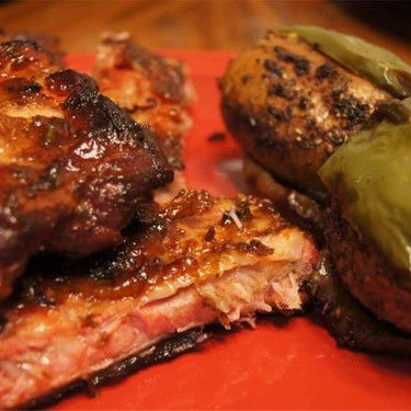 Beer Infused Smoky Ribs and Caesar's Taters Recipe | SideChef