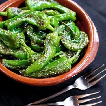 Tapas-Style Blistered Green Peppers Recipe   SideChef