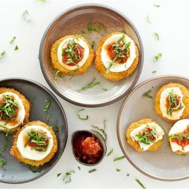 Fried Green Tomato Caprese Recipe | SideChef