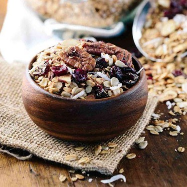 Spiced Slow Cooker Granola with Fruit and Nuts Recipe | SideChef