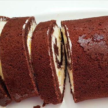 Chocolate Orange Swiss Roll Recipe | SideChef
