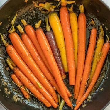 Sticky Carrots Recipe   SideChef