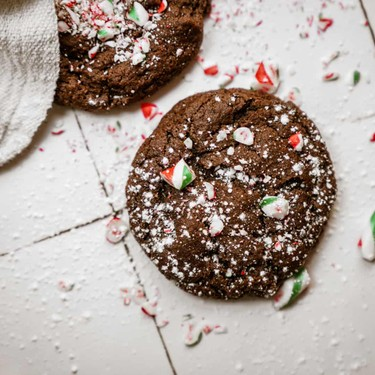 Double Chocolate Peppermint Cookies Recipe | SideChef