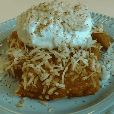 Pumpkin Chiffon Pudding Recipe | SideChef