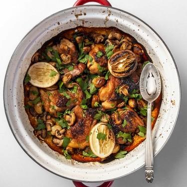 One Pan Garlic-Soy Chicken Dinner Recipe   SideChef