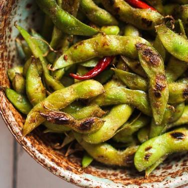 Blistered Edamame with Chili and Garlic Recipe   SideChef