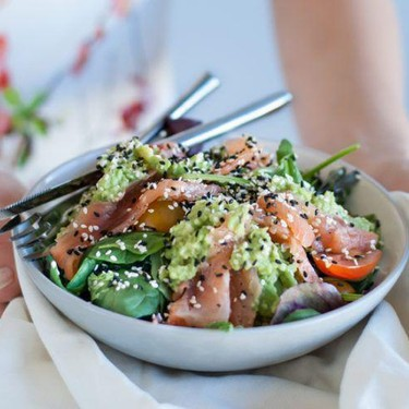 Avocado and Salmon Salad Recipe   SideChef