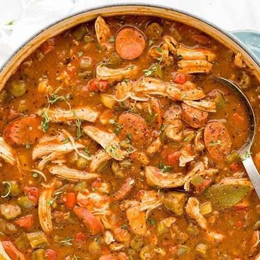 Chicken Andouille Sausage Gumbo Recipe | SideChef