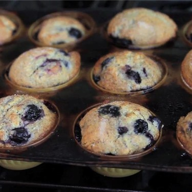 Spiced Blueberry Muffins Recipe | SideChef