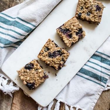 Blueberry Quinoa Oatmeal Breakfast Bars Recipe   SideChef