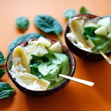 Pineapple Spinach Smoothie Bowls Recipe   SideChef