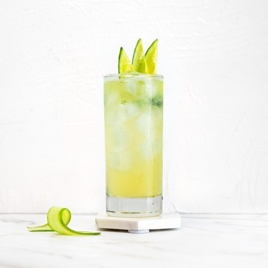 Cucumber Lemon Fizz Recipe | SideChef