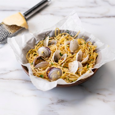 Steam Baked Clams En Papillote Recipe | SideChef