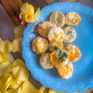 Egg White Bites with Spinach Recipe | SideChef