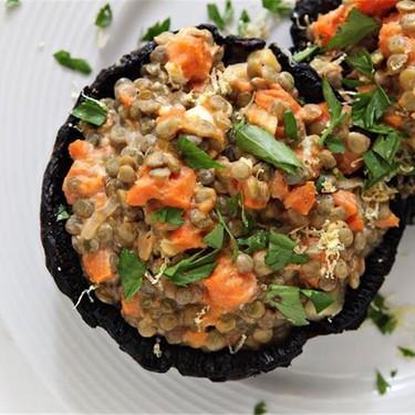 Stuffed Roasted Portabella Mushrooms Recipe | SideChef