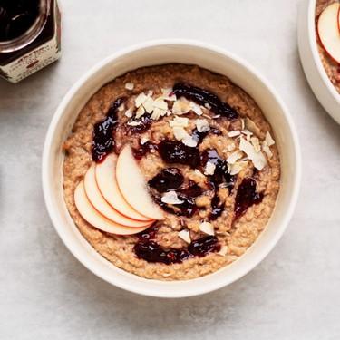 Peanut Butter and Jelly Cauliflower Oatmeal Recipe | SideChef