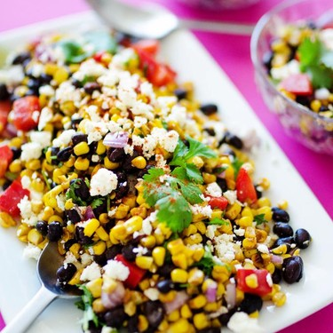 Mexican Street Corn Salad Recipe   SideChef