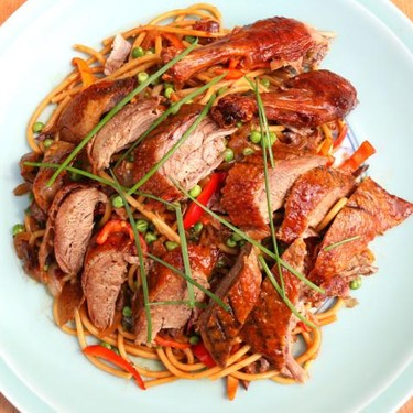 Duck with Dirty Noodles Recipe | SideChef