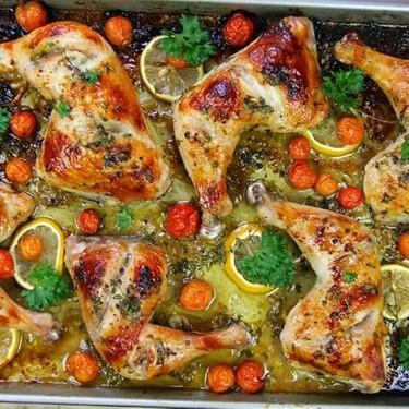 Simple Citrus Oven-Roasted Chicken Recipe   SideChef