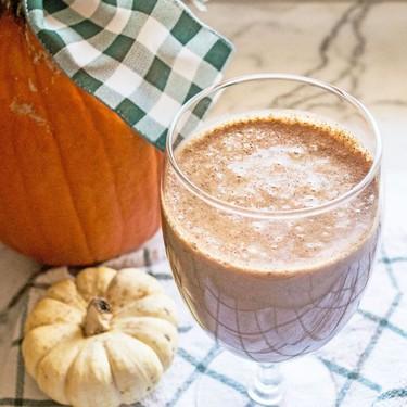 Vegan Pumpkin Spice Latte Smoothie Recipe | SideChef