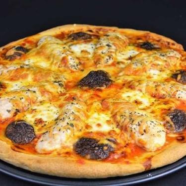 Homemade Chicken and Mushroom Pizza Recipe   SideChef