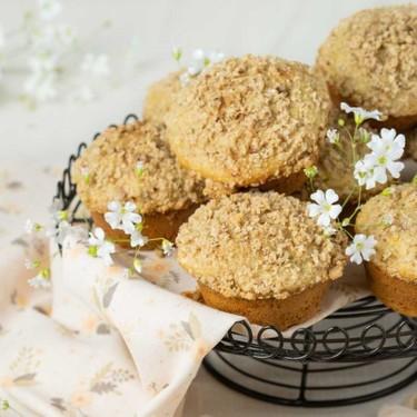 Whole Wheat Peach Streusel Muffins Recipe | SideChef