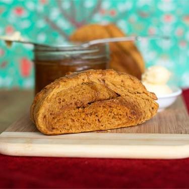 Vegan Pumpkin Scones Recipe | SideChef