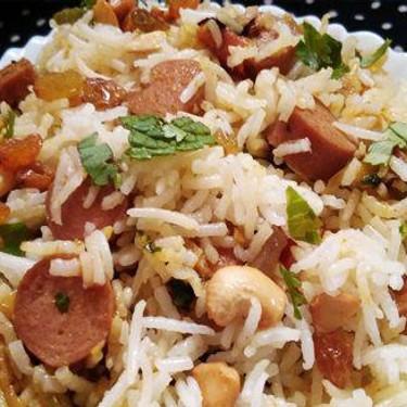 Chicken Sausage Biriyani Recipe   SideChef