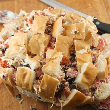 Loaded Pull-Apart Antipasto Bread Recipe   SideChef