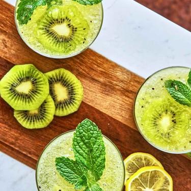 Kiwi Bellini with Mint Recipe   SideChef