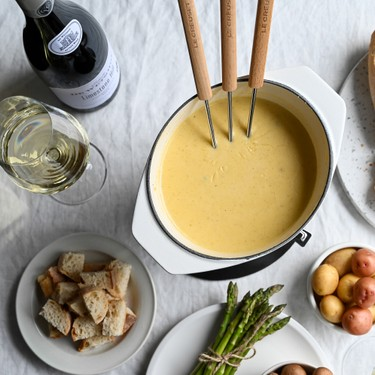 Classic Cheese Fondue Recipe   SideChef