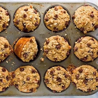 Banana Chocolate Chip Muffins Recipe | SideChef