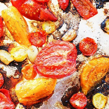 Roasted Tomatoes with Garlic Recipe   SideChef