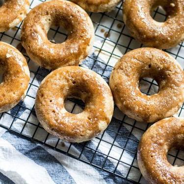 Gluten-Free Maple Baked Donuts with Maple Glaze Recipe   SideChef