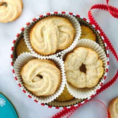 Vanilla Bean Danish Butter Cookies Recipe   SideChef