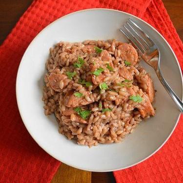 Spicy Andouille Risotto Recipe | SideChef