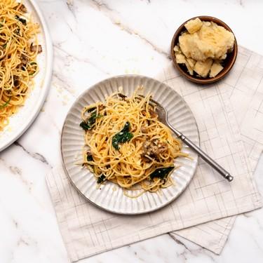 Mushroom Carbonara Recipe | SideChef