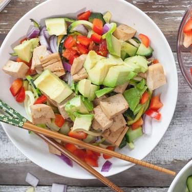 Sesame Ginger Tofu Poke Bowl Recipe | SideChef