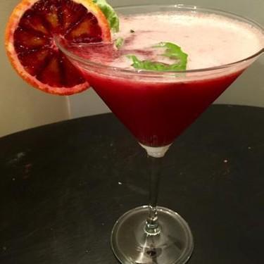 Blood Orange Martini with Strawberry Recipe   SideChef