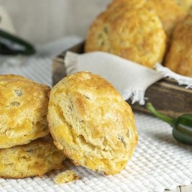 Flaky Jalapeño Cheddar Biscuits Recipe   SideChef