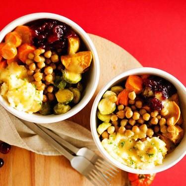 Vegan Thanksgiving Leftover Bowls Recipe | SideChef