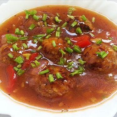 Vegetable Manchurian Gravy Recipe | SideChef