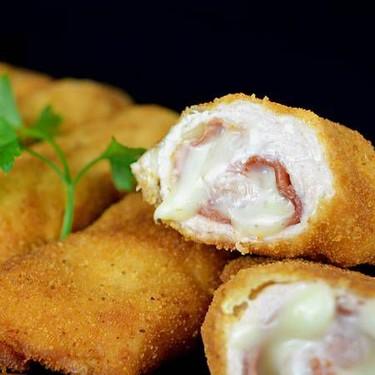 Serrano Ham Cheese and Chicken Rolls Recipe | SideChef