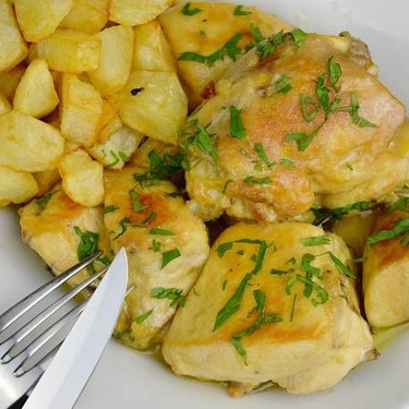 Garlic Chicken with Potatoes Recipe   SideChef