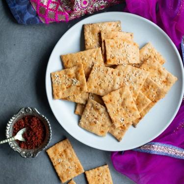 Achaar Masala Crackers Recipe   SideChef