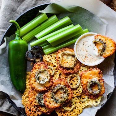 Easy Baked Jalapeño Cheese Crisps Recipe   SideChef