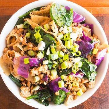 Vegan Sweet Teriyaki Tofu Drunk Noodles Recipe | SideChef