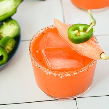 Spicy Carrot Mezcal Margaritas Recipe   SideChef