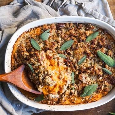 Loaded Sweet Potato Casserole Recipe   SideChef